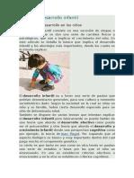Qué Es El Desarrollo Infantil