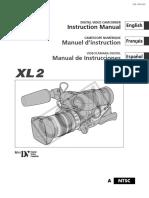 Manual Canon XL2.