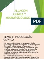 Evaluacion Clínica y Neuropsicológica 1