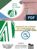 Estatuto Codigo Lic.adm.