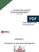 OSCM - Summary Presentations of Sessions 1-8 (1)