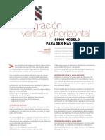 Integracion Vertical y Horizontal