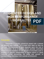 Fermentor Design and Bioreactor