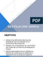 Destilación Simple (Final)