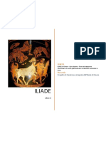ILIADE di Omero - Libro decimo - Prove di traduzione interlineare con note grammaticali e vocabolario essenziale in linea