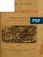 Jacolliot Louis - Voyage Au Pays Du Hatschisch