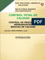 UNIDAD III - CTC - Control de Procesos y Herramientas de Calidad - Pablo