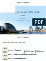 2016 10 London Mayor Shmp Density Research Presentation Oct 2016