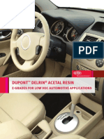 Delrin Low Emissions for Auto Applications
