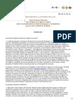 Doctrina de La Fe - Iuvenescit Ecclesia