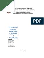Luis Convenio Venezuela Ecuador Brasil