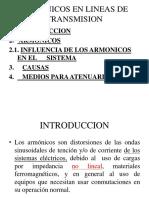 2° ARMONICOS EN LINEAS DE TRANSMISION
