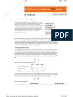 Bolted Joint Analysis
