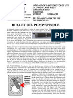 Oil Pump Spindle 16-08-17