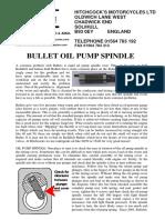 Oil Pump Spindle 16-08-17
