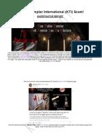 SCAM! Knights Templar International (KTI) Exposed / Investigation