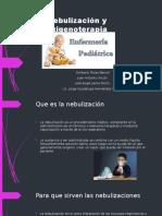 Nebulización y Oxigenoterapia