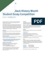 Blackhistory Essay Rules and Waiver Form En