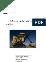 Informe de La Pala Con Cables