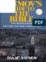 Asimovs Guide to the Bible the Old and New Testaments