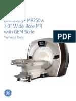 Discovery MR750w 3.0T GEM