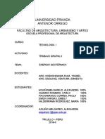 Energia Geotérmica Informe