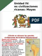 Grandes Civilizaciones Los Mayas