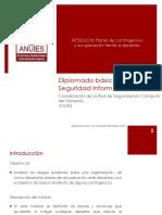 MODULO 8 - Planes de Contingencia y Recuperacion Frente a Desastres