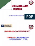 Servicios Auxiliares Mineros-Tema 15