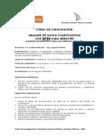 Programa SPSS 2008