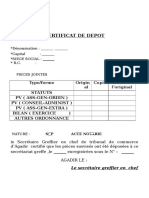 Citificat de Depot_vide