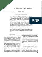 Biological Management of Solar Saltworks