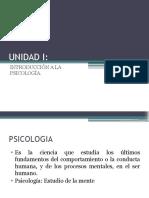 PSICOLOGÍA introduccion