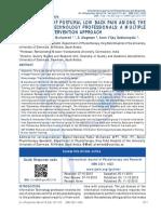 Management of Postural Lba