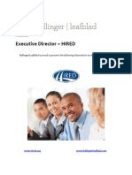 Executive Position Profile - HIRED - Executive Director