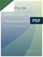 PROGRAMA DE ALIMENTAÇÃO VEGANA NAS ESCOLAS PÚBLICAS