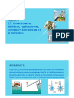 2.1 Antecedentes Hidraulica