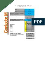 Calculadora de Salario Diario Integrado