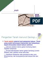 Kuliah 3a Klasifikasi Tanah