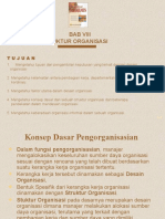 Bab 8 Desain Dan Struktur Organisasi