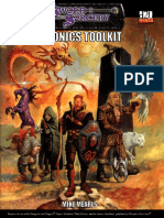 Fiery Dragon - Psionics Toolkit