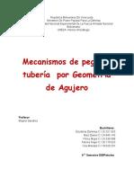 Mecanismos de Pega de Tubería Por Geometría de Agujero