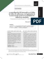 7 Herrera Guerrero - La Participación Del Interesado en El Delito de Tráfico de Influencias