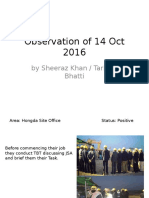 Observations of 14 Oct 2016