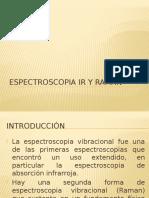 Espectroscopia Ir y Raman