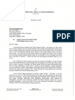 Letter to PAO for Lesher Criminal Investigation