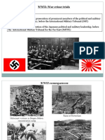 WWII - War Crime Trials