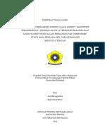 Proposal Tugas Akhir analisis jalan tambang