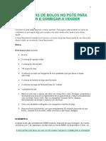 5 RECEITAS DE BOLOS NO POTE PARA FAZER E COMEÇAR A VENDER-1-1-1