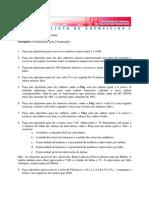 Lista de Exercicios Final Programação Linder Federal